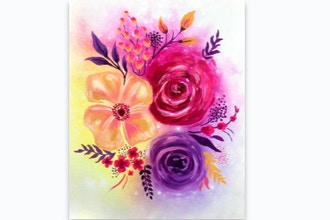 Paint Nite: Blooming Blossoms II