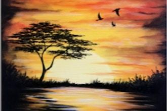 Paint Nite: Calm Surrender