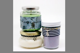 Candle Maker: Mixed Jars Candle Trio III