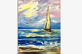 Paint Nite: Catching Cape Winds