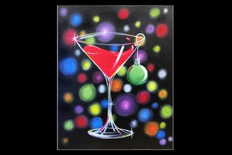 Paint Nite: Sexy Christmas Cocktail