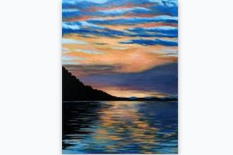 Paint Nite: Coastal Inlet Sunset