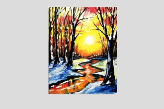 Paint Nite: Cold Warmth