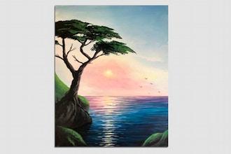 Paint Nite: Cypress Sunset