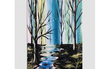 Paint Nite: Enchanted Forest in Spring