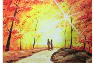 Paint Nite: Fall Back In Love