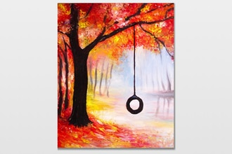 Paint Nite: Fall Swing Time