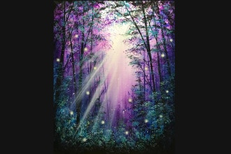 Paint Nite: Forest Through the Trees