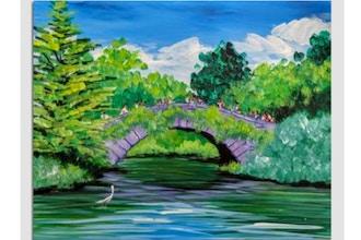 Paint Nite: Gapstow Bridge Central Park