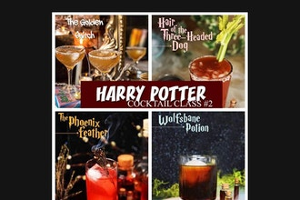 Virtual Harry Potter Cocktail Making #2
