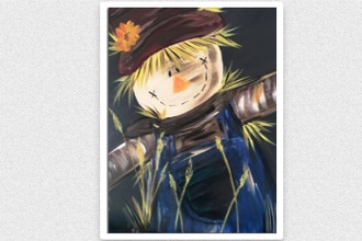 Paint Nite: Harvest Scarecrow (Ages 13+)