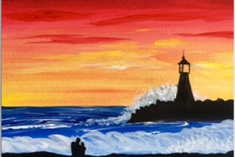 Paint Nite: Lovers Lighthouse