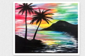 Paint Nite: Mahalo Vacation Bliss