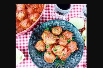 Virtual: Albondigas Spanish Style Meatballs