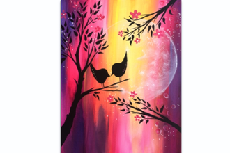 All Ages Paint Nite: More Than A Spring Fling Baby