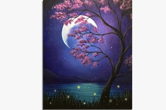 Paint Nite: Mystical Moonlight