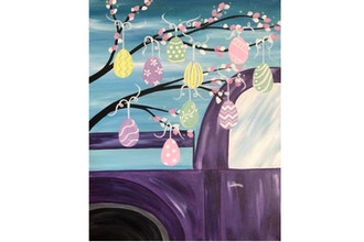 All Ages Paint Nite: Happy Easter Old Truck