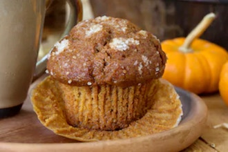 Virtual Pumpkin Coffee Cake Muffins