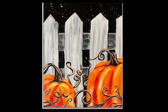 Paint Nite: Midnight Pumpkin Patch IV