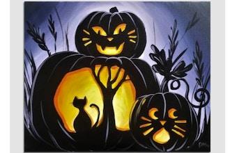 Paint Nite: Who's Pumpkin