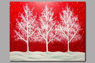 Red and White Tree-o Delight