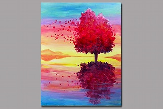 All Ages Paint Nite: Reflection on the Wind