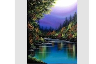 Paint Nite: Seasonal Reflections