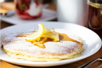 Virtual: Up Your Weekend Vibes w/ Lemon Ricotta Pancake