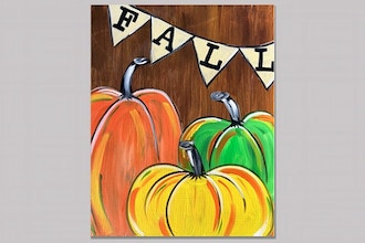 Rustic Fall Pumpkins