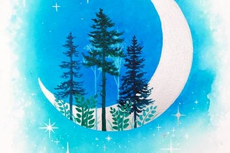 All Ages Paint Nite: Silver Moon