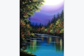 All Ages Paint Nite: Seasonal Reflections