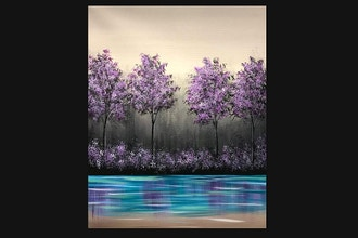Paint Nite: Simple Spring Forest