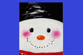 Paint Nite: Snowman Portrait (Ages 6+)
