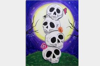 Paint Nite: Stack-O-Skulls