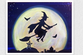 Paint Nite: Star City Witch