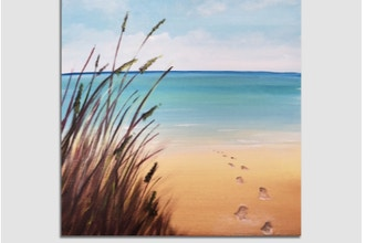 Paint Nite: Steps to the Beach