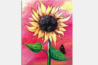 Paint Nite: Sunflower of Gratitude