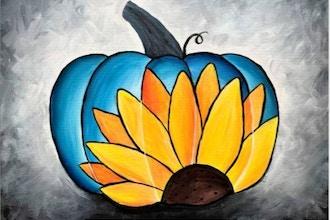 Paint Nite: Sunflower Pumpkin