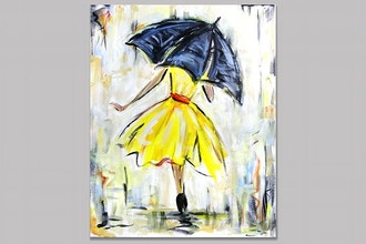 Paint Nite: The Yellow Dress (Ages 18+)