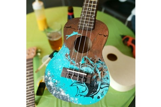 Paint Nite Innovation Labs: Create a Ukulele
