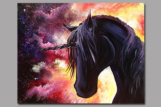 Paint Nite: Unicorn Magic (Ages 18+)
