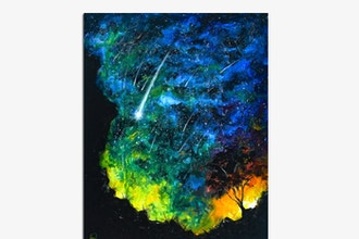 Paint Nite: Watercolor Starry Night