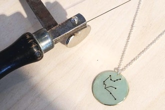 Make Your Own Zodiac Sign Necklace