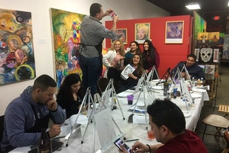 Wine & Warhol Painting Party