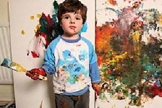 Pre-School Painters' Party