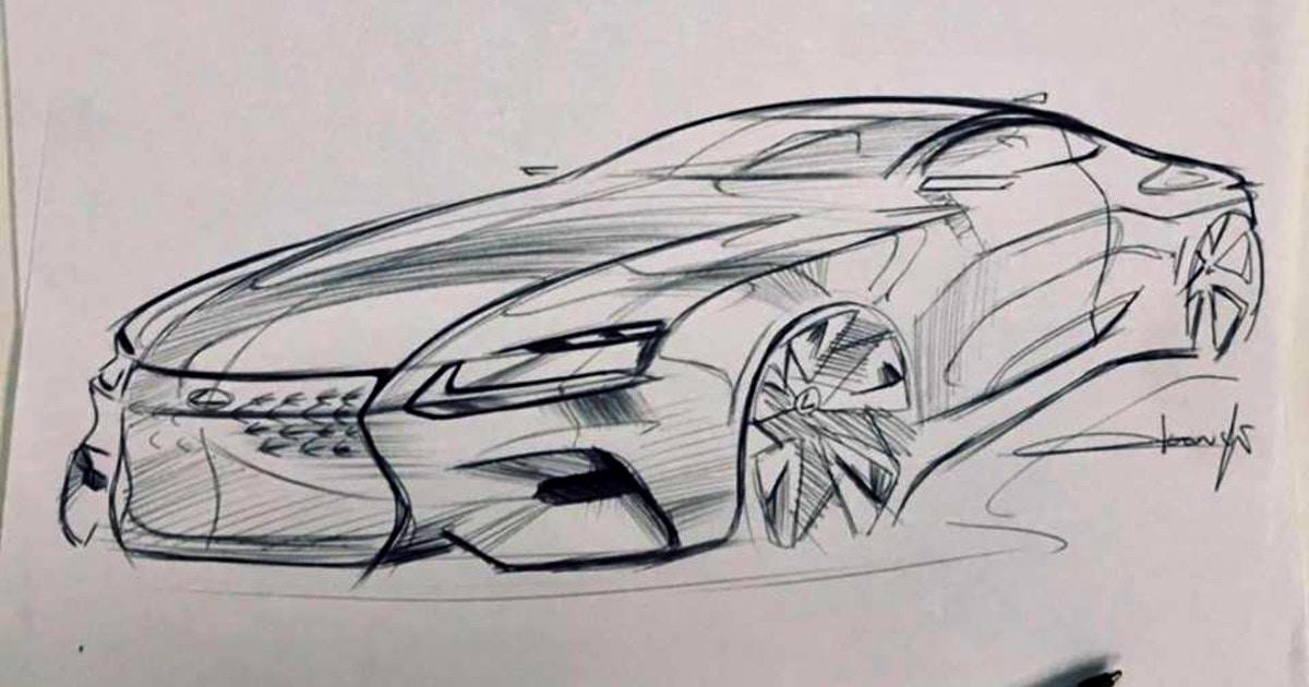 Car Design - Sketch Classes Los Angeles | CourseHorse - De. Core ...
