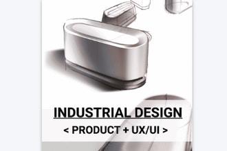 Industrial Design < Product + UX/UI >