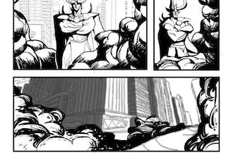 Comics Compositions