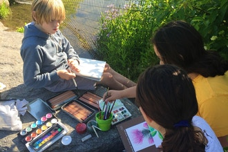 After-School On-Site Art classes (Ages 9-11)