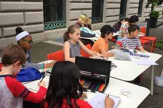 After-School On-Site Art classes (Ages 9-13)